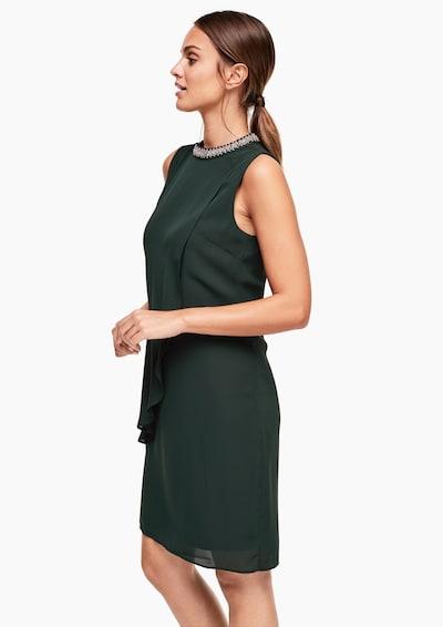 Suknelė iš s.Oliver BLACK LABEL , spalva - tamsiai žalia: Vaizdas iš priekio