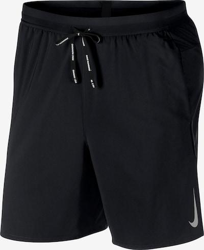 NIKE Sportovní kalhoty 'FLX Stride' - světle šedá / černá, Produkt