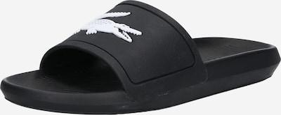 LACOSTE Zapatos para playa y agua en negro / blanco, Vista del producto