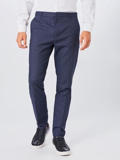 Pantaloni 'Heldor 203' HUGO pe albastru: Privire frontală