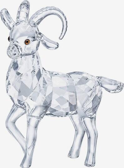 Swarovski Dekofigur 'Steinbock, 5464877' in braun / transparent, Produktansicht