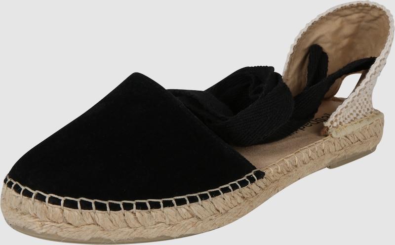 Espadrij l´originale Sandalen 'Pyrenées 1 Lacet Velour Textil, Leder Billige Herren- und Damenschuhe