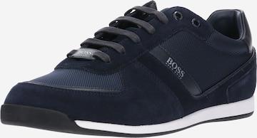 BOSS Casual Sneaker in Blau
