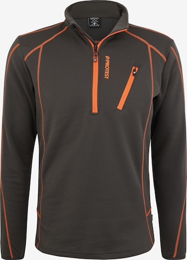 PROTEST Sportovní svetr 'Humany' - oranžová / černá, Produkt