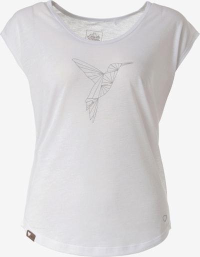 Lakeville Mountain T-Shirt 'Kolimbin' in grau / weißmeliert, Produktansicht