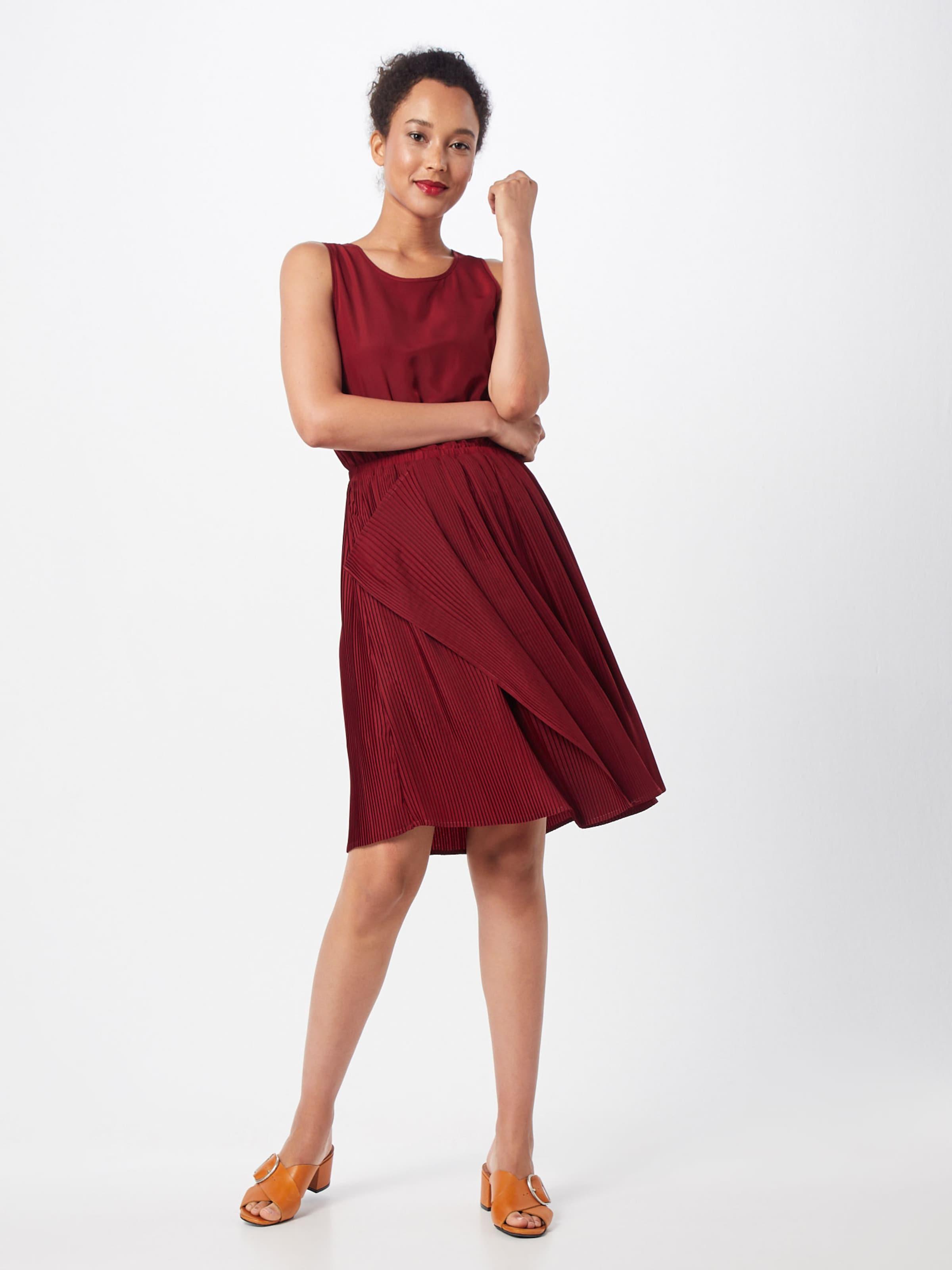 In Copenhagen Kleid Pop 'pleated' Bordeaux Tl1Jc3FK