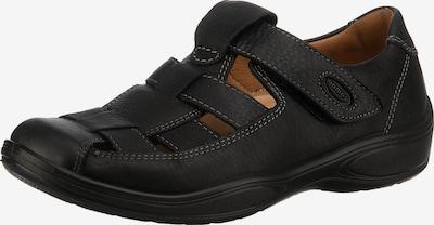 JOMOS Ergocom Komfort-Sandalen in schwarz, Produktansicht