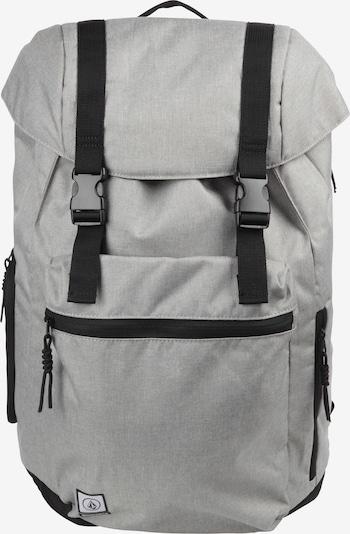 Volcom Rucksack 'Ruckfold' in graumeliert / schwarz, Produktansicht