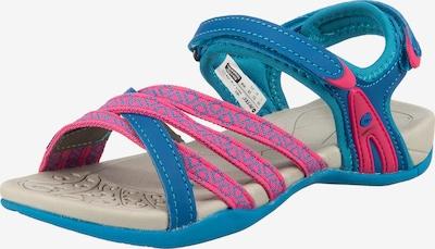 HI-TEC Outdoorsandale 'Savanna' in himmelblau / pink, Produktansicht