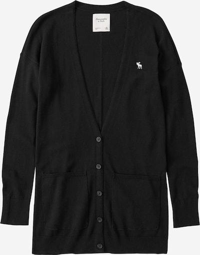 Abercrombie & Fitch Gebreid vest in de kleur Zwart, Productweergave
