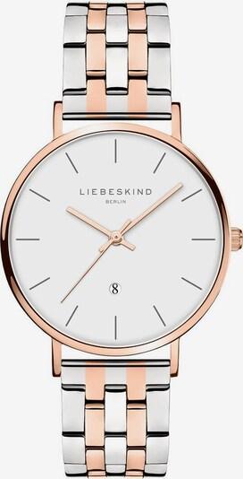 Liebeskind Berlin Uhr in rosegold / silber, Produktansicht