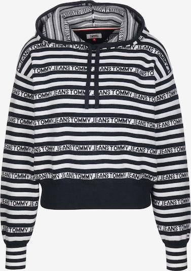 Tommy Jeans Hoodie ' Stripe ' in schwarz / weiß, Produktansicht