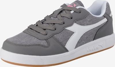 Diadora Sneaker in grau / rosa / weiß, Produktansicht