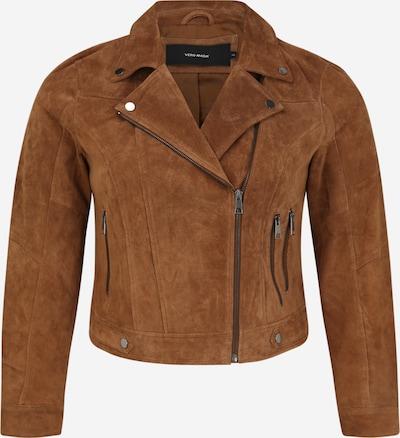 Vero Moda Curve Jacke in braun: Frontalansicht
