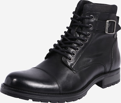 Auliniai batai su raišteliais iš JACK & JONES , spalva - juoda, Prekių apžvalga