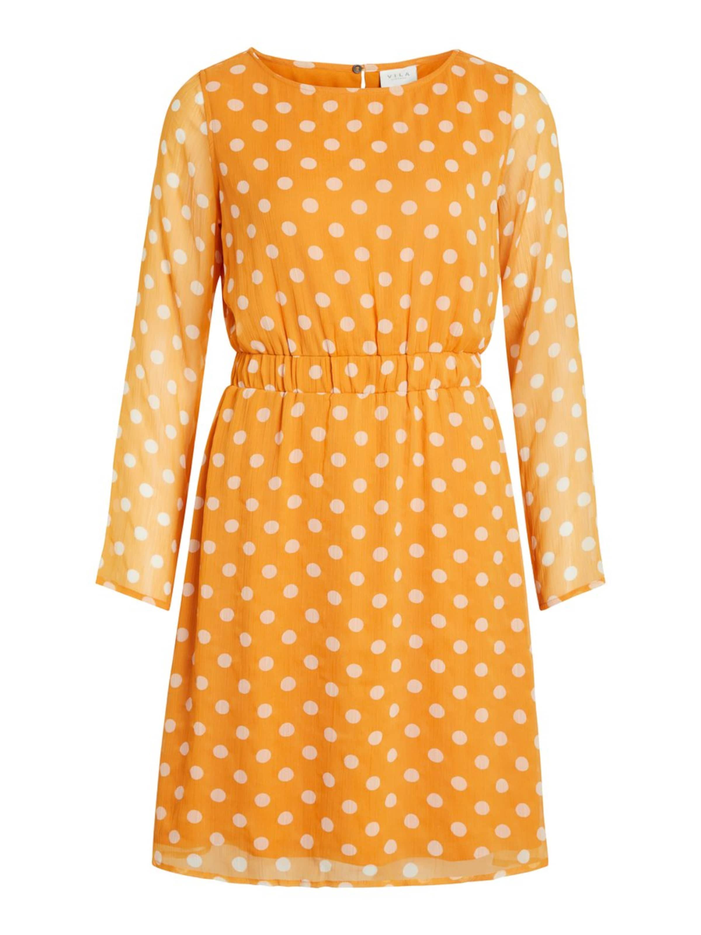 Minikleid Minikleid Vila Vila OrangeWeiß OrangeWeiß Vila In Minikleid In In Yg6Ibyvf7