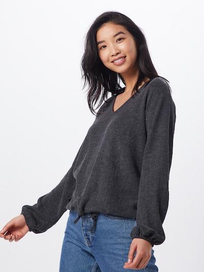 b.young Pullover in schwarz, Modelansicht