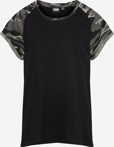 kő / sötétszürke / fekete Urban Classics Curvy Póló, Termék nézet