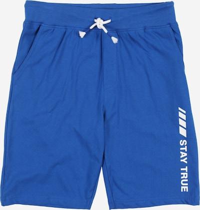 """Kelnės iš STACCATO , spalva - sodri mėlyna (""""karališka"""") / balta, Prekių apžvalga"""