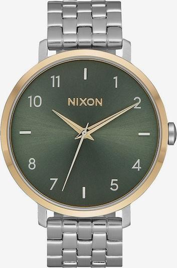 Nixon Damenuhr in gold / grasgrün / silber, Produktansicht