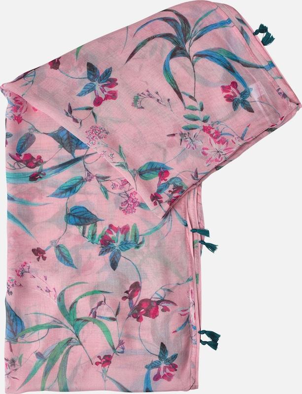STREET ONE Blüten Schal mit Quasten