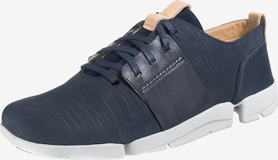 CLARKS Sneakers laag 'Tri Caitlin' in de kleur Navy, Productweergave