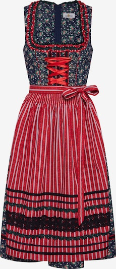 ALMSACH Dirndl in dark blue / mixed colours, Item view