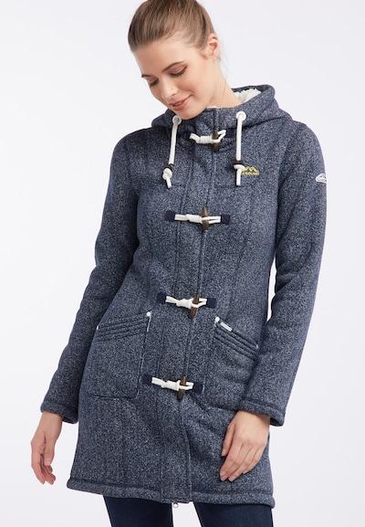 ICEBOUND Manteau mi-saison en bleu cobalt, Vue avec modèle