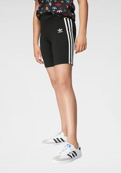 ADIDAS ORIGINALS Shorts in schwarz / weiß: Frontalansicht