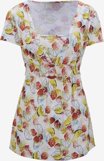 heine Shirt in mischfarben / weiß, Produktansicht