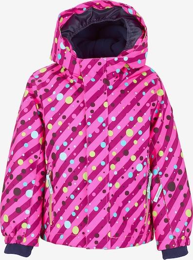 KILLTEC Skijacke 'Dotty Mini' in mischfarben / pink, Produktansicht