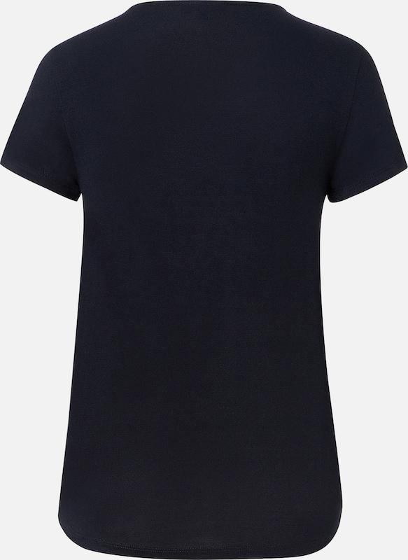 MORE & MORE Shirt mit Satinfront
