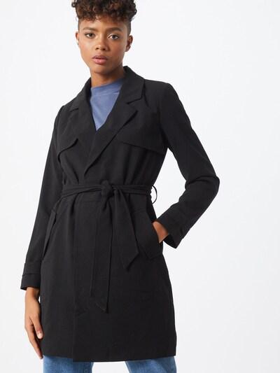 ONLY Mantel 'FANNY-RUNA' in schwarz, Modelansicht