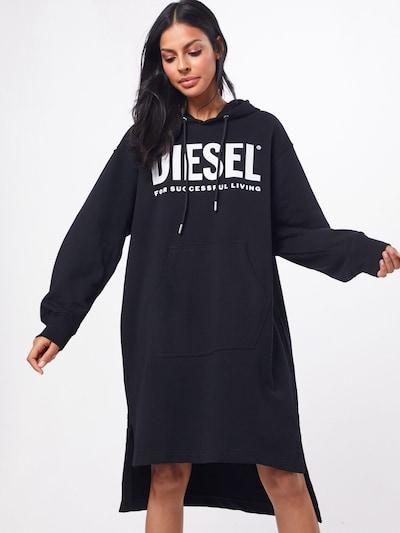 DIESEL Kleid 'D-ILSE-T DRESS' in schwarz, Modelansicht