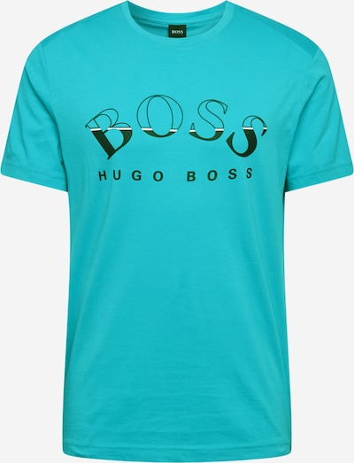 BOSS ATHLEISURE Shirt 'Tee 1' in Turquoise, Item view