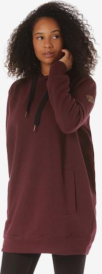 Lakeville Mountain Kapuzenpullover 'Nata' in rot / bordeaux / dunkelrot, Produktansicht