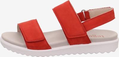 Legero Savona Klassische Sandalen in rot, Produktansicht