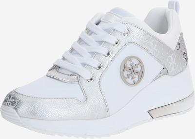 GUESS Sneakers laag 'JARYDS4' in de kleur Zilver / Wit, Productweergave