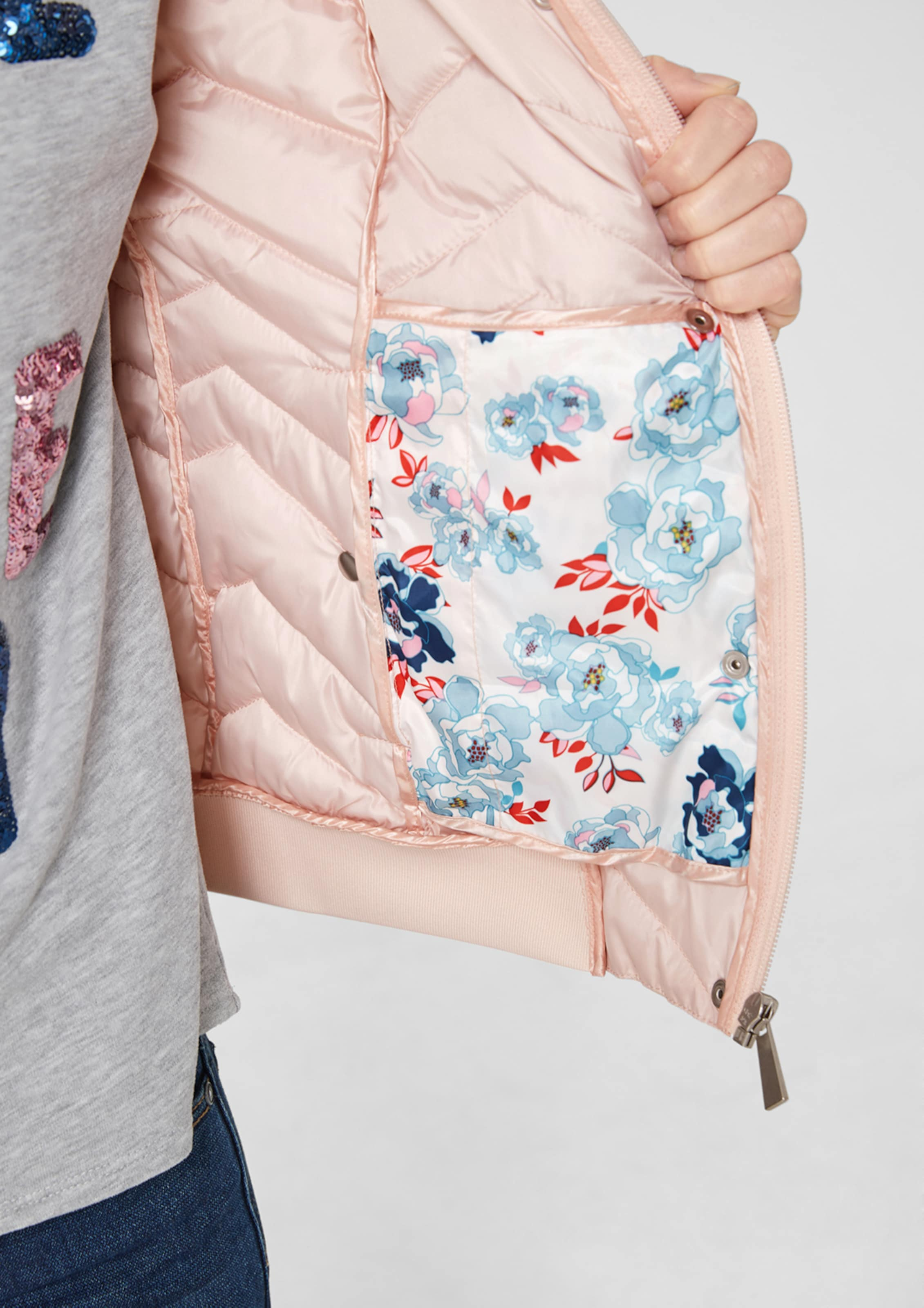 oliver Pastellpink Steppjacke In S Pastellpink oliver In S Steppjacke PuOZkXi
