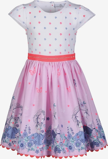 happy girls Kleid in mischfarben / pink / weiß, Produktansicht
