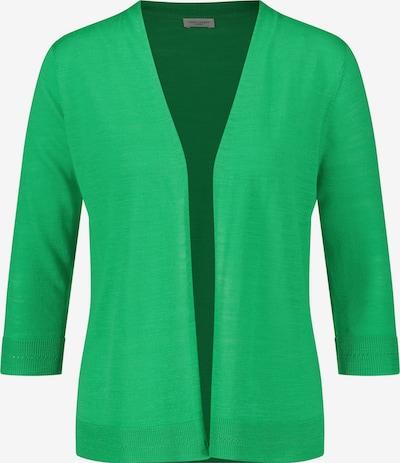 GERRY WEBER Jacke Strick Feingestrickte Jacke in grün, Produktansicht