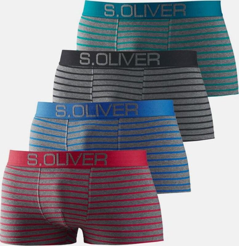s.Oliver RED LABEL Bodywear Hipster mit kontrastfarbenem Webbund
