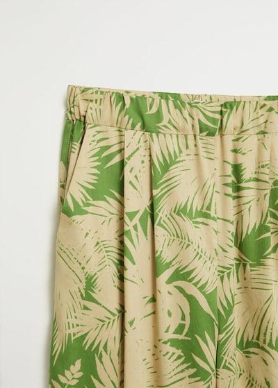 MANGO Nohavice 'kai' - zelená, Produkt