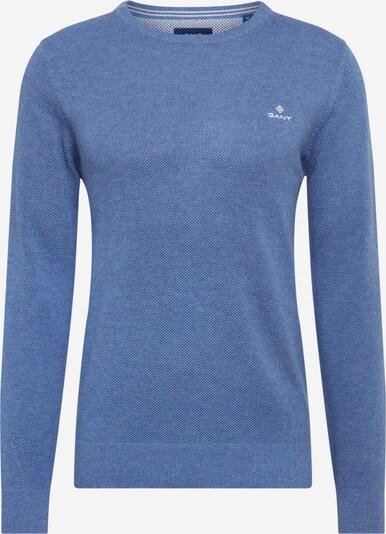 Megztinis 'COTTON PIQUE CREW' iš GANT , spalva - tamsiai (džinso) mėlyna, Prekių apžvalga