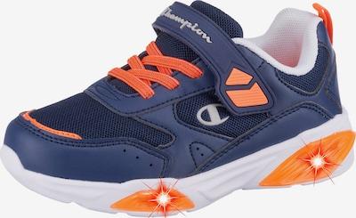 Champion Authentic Athletic Apparel Sneaker  'Wave' in blau / orange, Produktansicht