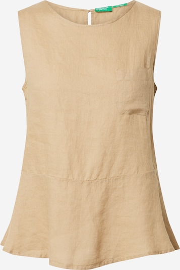 UNITED COLORS OF BENETTON Bluse in beige, Produktansicht