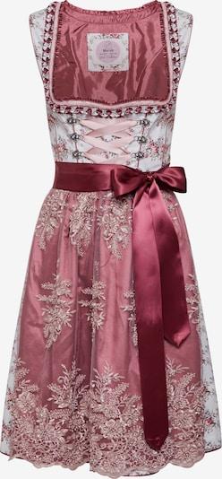 MARJO Dirndl 'Nevita' | siva / roza barva, Prikaz izdelka