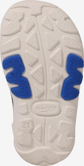 SUPERFIT Sandale 'Flow' in blau / basaltgrau: Ansicht von unten