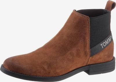 Tommy Jeans Botki Chelsea w kolorze koniakowy / czarnym, Podgląd produktu