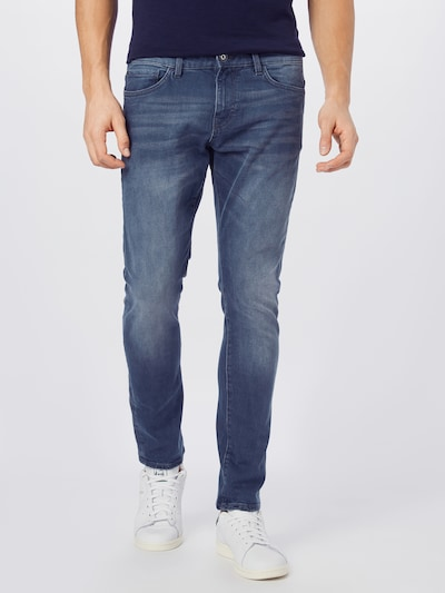 TOM TAILOR Jeans 'Troy' in de kleur Blauw denim, Modelweergave